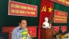 Đồng chí Bùi Khắc Quang – TUV, Giám đốc Sở Công thương.